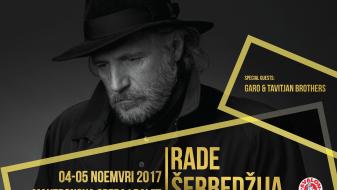 Раде Шербеџија ќе одржи два концерта во Скопје