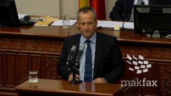 Вељаноски: Кога ние го предложивме законот за јазиците, за СДСМ беше неуставен, а сега му ставија европско знаменце