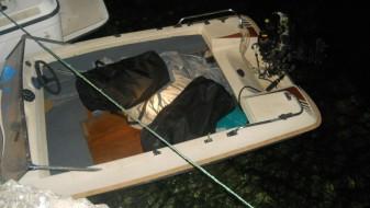 Полицијата пронашла 30 кг марихуана на глисер во Охрид