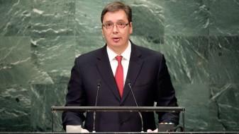 Вучиќ од ОН: Србија нема да го признае Косово
