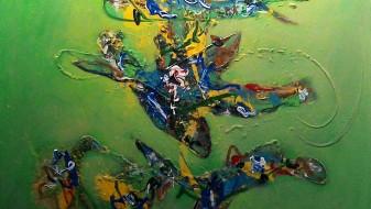 """Изложба """"Танц на рацете"""" на Сергеј Анреевски"""
