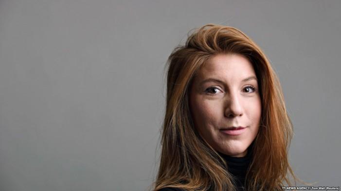 Полицијата ја пронајде отсечената глава на шведската новинарка Ким Вал