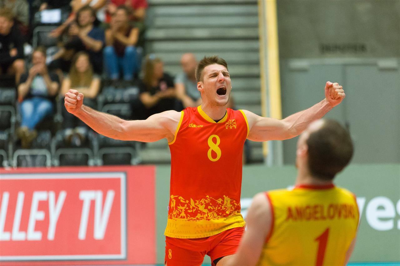Одбојкарите ќе бркаат ЕП против Украина  Унгарија и Швајцарија