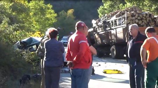Семејство настрада во сообраќајна несреќа кај Делчево