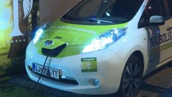Скопје доби полнач за електрични автомобили