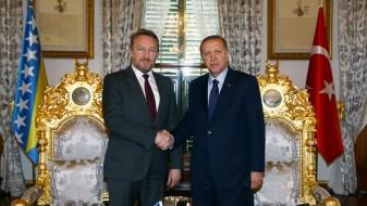 Изетбеговиќ: Мојот татко Алија му ја остави БиХ на Ердоган во аманет