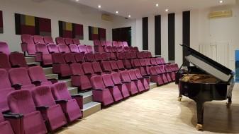 """По 40 години, музичкото училиште """"Илија Николовски-Луј"""" доби нова концертна сала и пијано"""