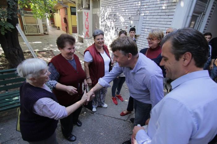 По посетата на Аеродром, Шилегов денеска со граѓаните на Карпош