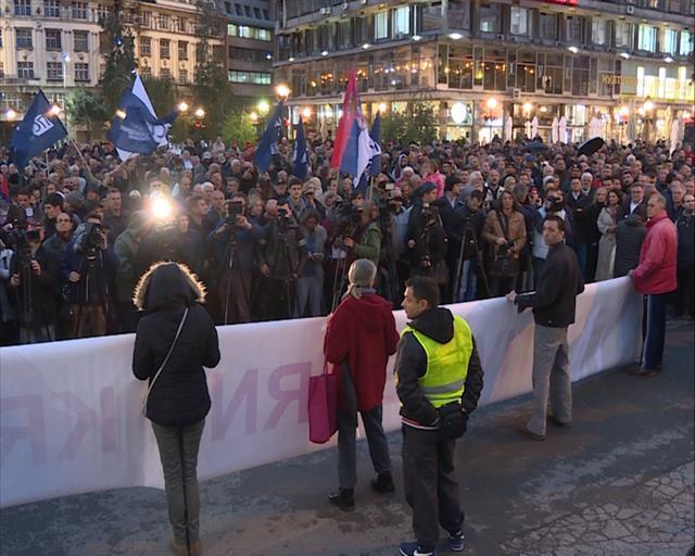 Собир за чесни избори во Белград