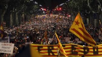 Нов протест во Барселона,  200.000 луѓе на улиците