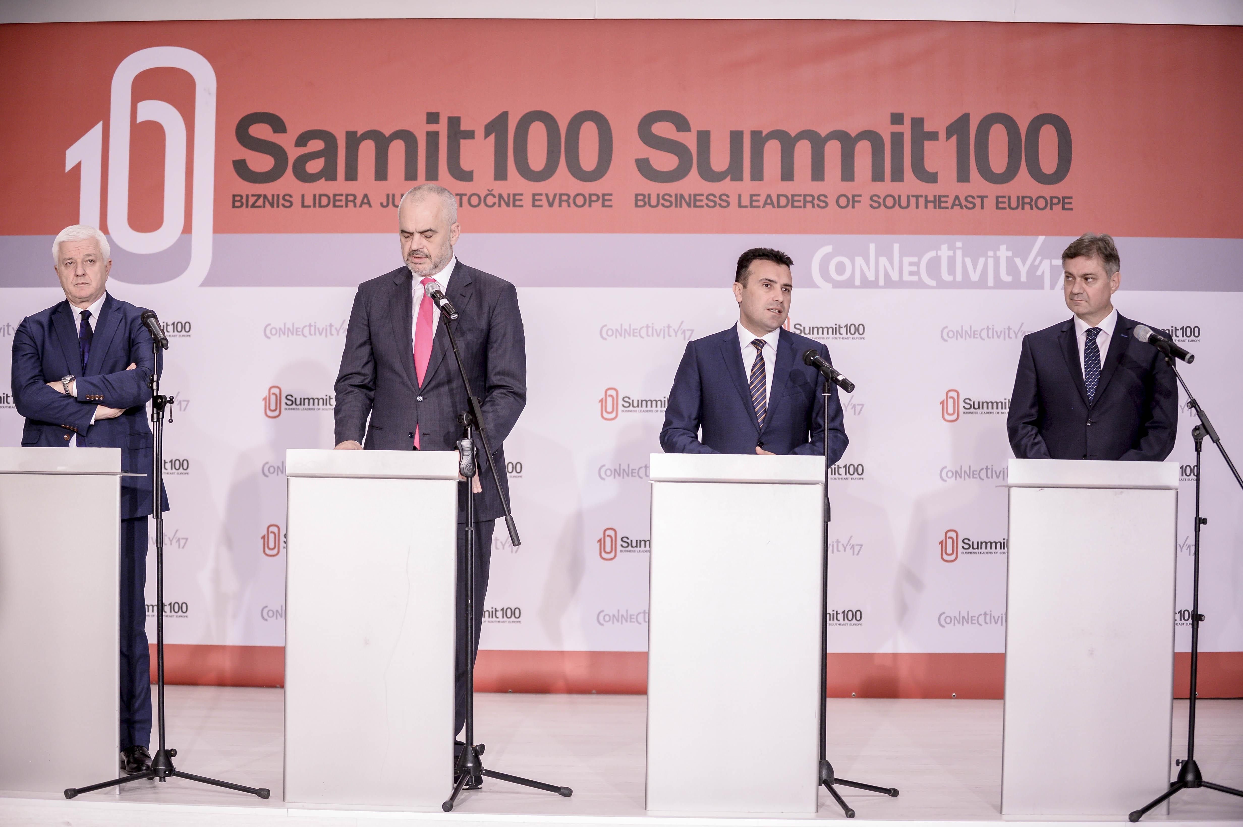 Заев  На Балканот му треба раст од пет отсто за да се доближи до ЕУ