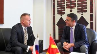 Проштална средба на Димитров со словачкиот амбасадор