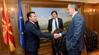 """Заев се сретна со бордот на """"Македонија 2025"""""""