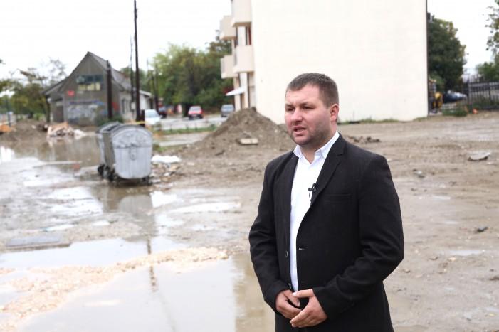 "(ВИДЕО) Богдановиќ најави реконструкција улицата ""Ѓуро Ѓоновиќ"" по 50 години"