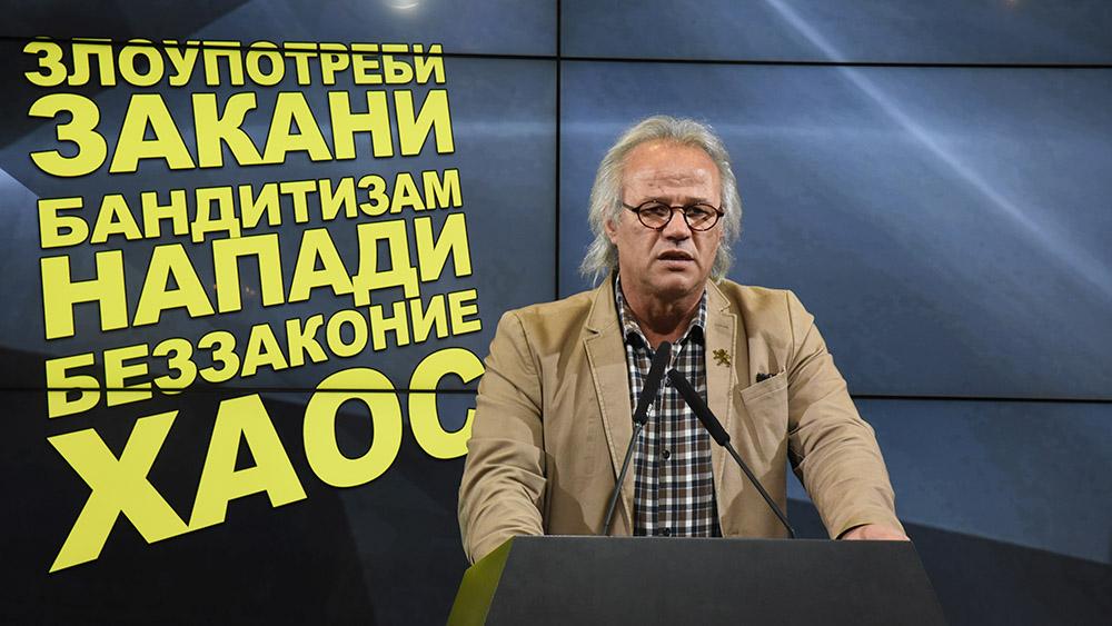 Јовановски  СДС активира криминалци за изборите кои потоа ќе бидат амнестирани и наградени