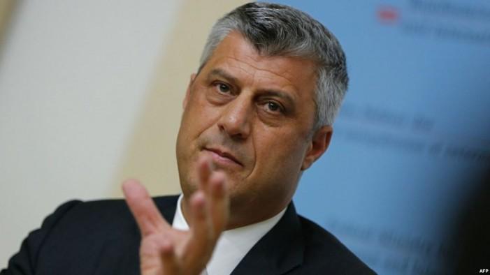 Тачи бара Албанија да им даде државјанство на Косоварите