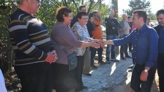 Заев во Карбинци: Руралните општини мора да имаат ниво на развој како градските