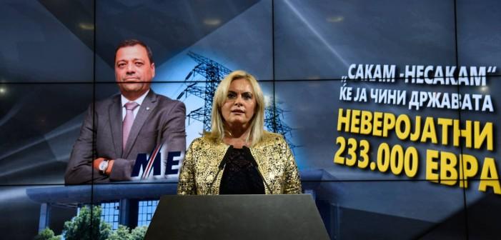 Затуроска: Имајќи ја предвид неисплатливоста на набавката на струја, Анѓушев го раскина договорот со МЕПСО