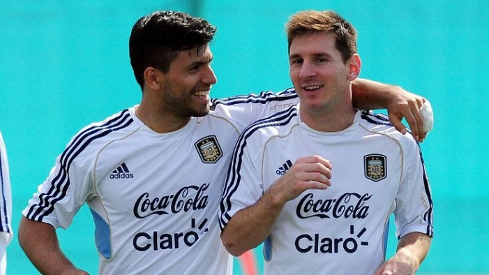 Агуеро: Би сакал Меси да дојде во Сити