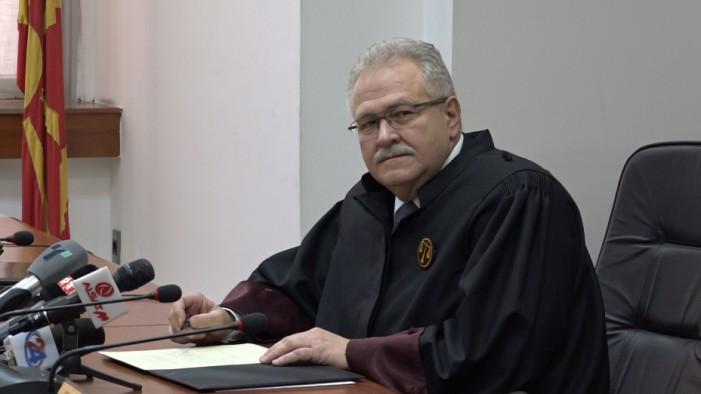 Јово Вангеловски ја испитува наредбата за претрес на СЈО во домот на Панчевски