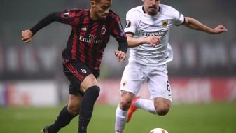 Милан не успеа да биде подобар од АЕК