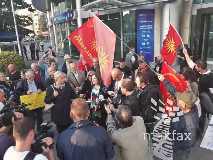 (ВИДЕО) Иванов не ги прими патриотските здруженија, тие го прогласија за кукавица