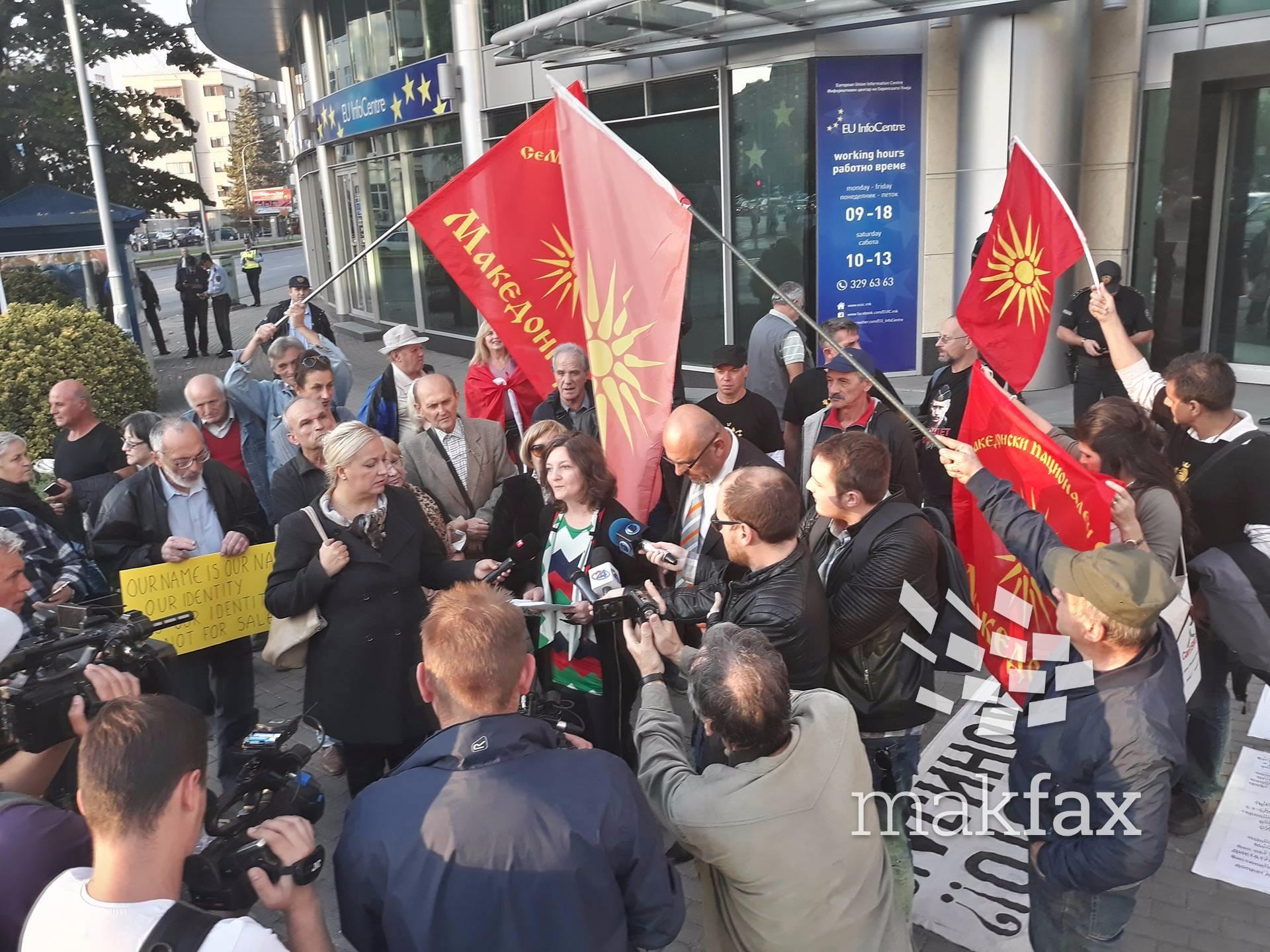 Иванов не ги прими патриотските здруженија  тие го прогласија за кукавица