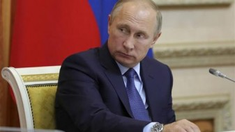 Путин и Лариџани на средба очи во очи