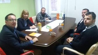 ДОМ договара соработка со албанските зелени