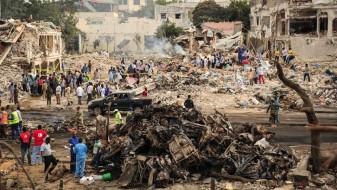 Бројот на жртви во терористичкиот напад во Сомалија се искачи на 358