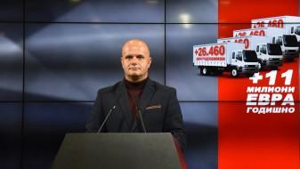 ВМРО-ДПМНЕ: Владата ќе им одземе 11 милиони евра на превозниците со зголемувањето на акцизата на нафтата
