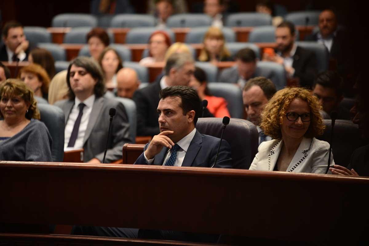 Први пратенички прашања за Премиерот Заев и министрите