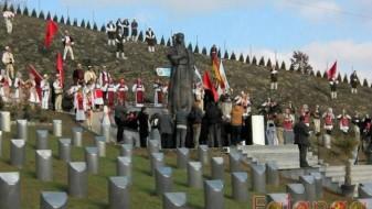 В сабота погреб на останките на жртвите на геноцидот врз Албанците