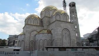 """ВМРО-ДПМНЕ: Срамно е да се скандализира градбата на црквата """"Св. Елена и Константин"""""""