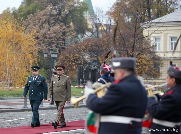 Началникот на Генералштабот на АРМ во работна посета на Бугарија