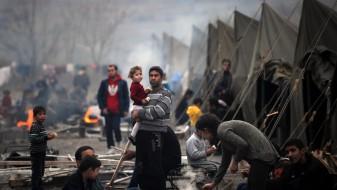 """Изложба во """"Мала станица"""" за страдањата на бегалците од воените зони"""
