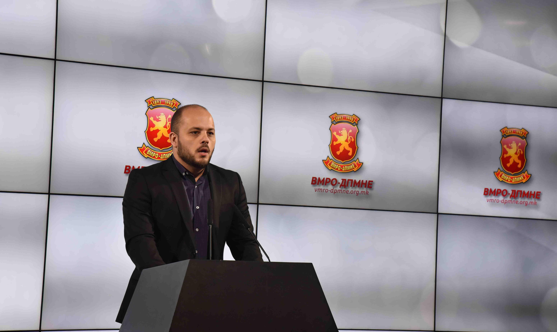 ВМРО ДПМНЕ  Законот за двојазичност ќе доведе до нови поделби во општеството