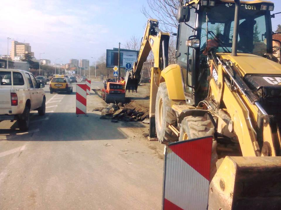 Затворена за сообраќај улицата Втора македонска бригада