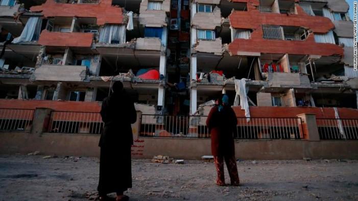 Бројот на жртви од земјотресот во Иран порасна на 530 лица