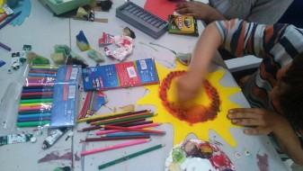 """Креативни работилници во Чифте амам под мотото """"Едно сонце за сите деца"""""""