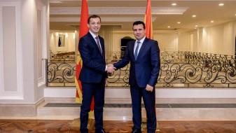Заев-Бошковиќ: Членството на Црна Гора во НАТО е водилка за Македонија
