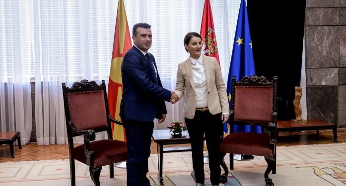 (Видео) Заев и Брнабиќ договорија в година заедничка седница на двете влади