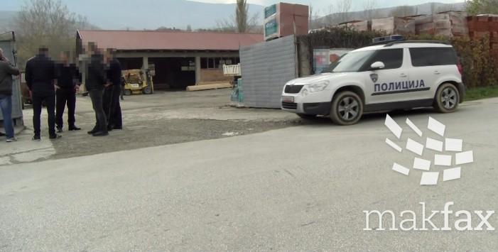 (Видео) Полициска акција во Ласкарци, лицата кои МВР ги гони избегаа