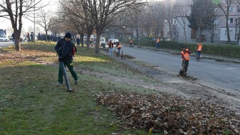 Во Скопје продолжува генералното чистење како една од мерките против загадувањето
