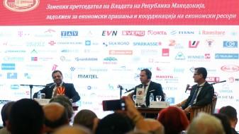 (ВИДЕО) Анѓушев: Со планот за економски раст Владата поддржува зголемување на соработката меѓу странските и домашните компании