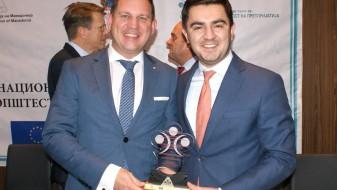 Прва награда за Изложбениот центар – Матка и јубилејно признание за ЕВН