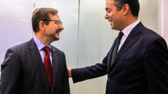 Димитров се сретна со генералниот секретар на ОБСЕ, Томас Гремингер