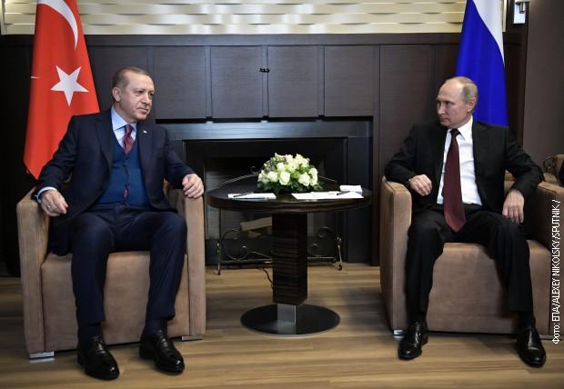 Путин и Ердоган разговараа повеќе од четири часа
