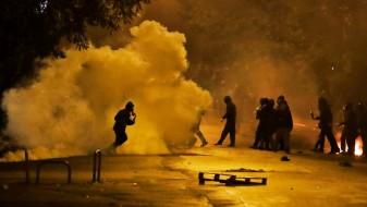Немири за време на демонстрациите во Атина и Солун
