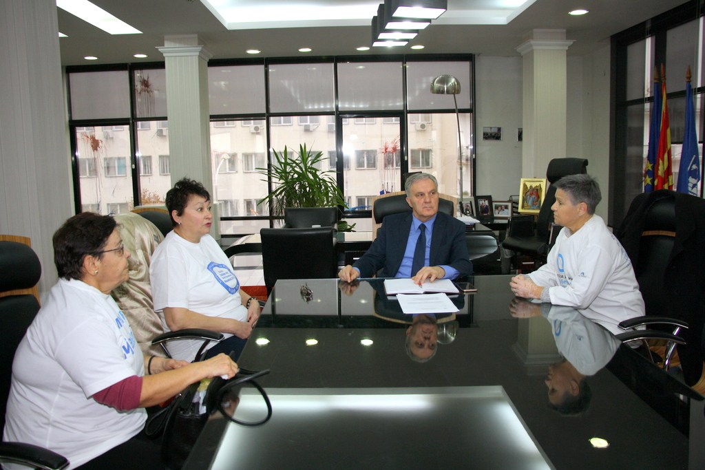 Градоначалникот на Прилеп вети финансиска помош и просторија за работа на здружението на граѓани со дијабетес